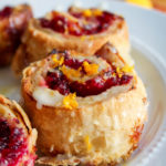 Easy Cranberry Orange Breakfast Rolls