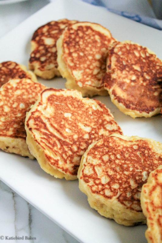 20170103 lemon ricotta pancakes blackberry sauce 3 katiebirdbakes.com