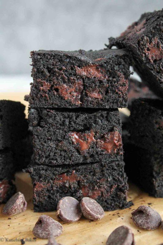 Midnight Brownies (katiebirdbakes.com)