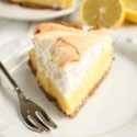 Lemon Meringue Pie with Graham Cracker Crust