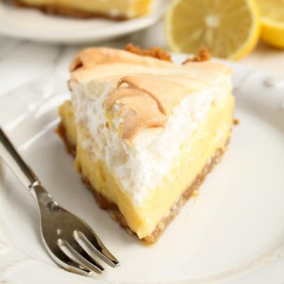 Lemon Meringue Pie with Graham Cracker Crust
