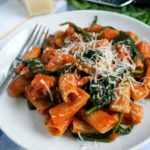 One Pot Sausage Rigatoni