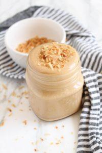 Toasted Coconut Cashew Butter | katiebirdbakes.com