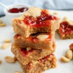 PB & J Bars (Peanut Butter & Jelly Bars) | katiebirdbakes.com
