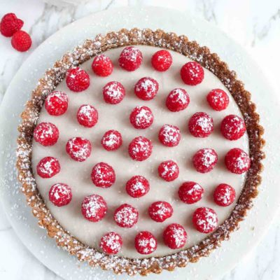 Raspberry Coconut Tart