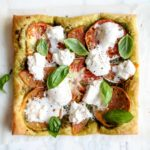Heirloom Tomato Tart with Burrata