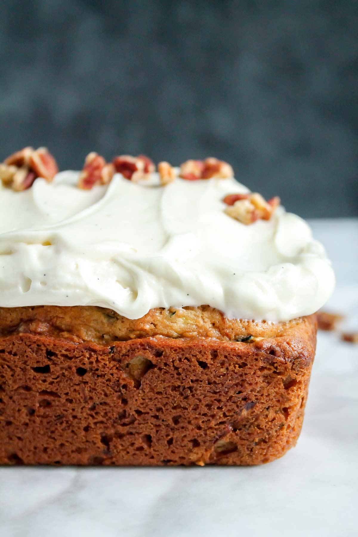 Healthy Zucchini Cake With Cream Cheese Frosting