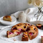 Golden Plum Coffee Cake