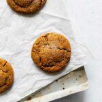 Soft Molasses Cookies | katiebirdbakes.com