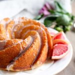 Grapefruit Yogurt Bundt Cake