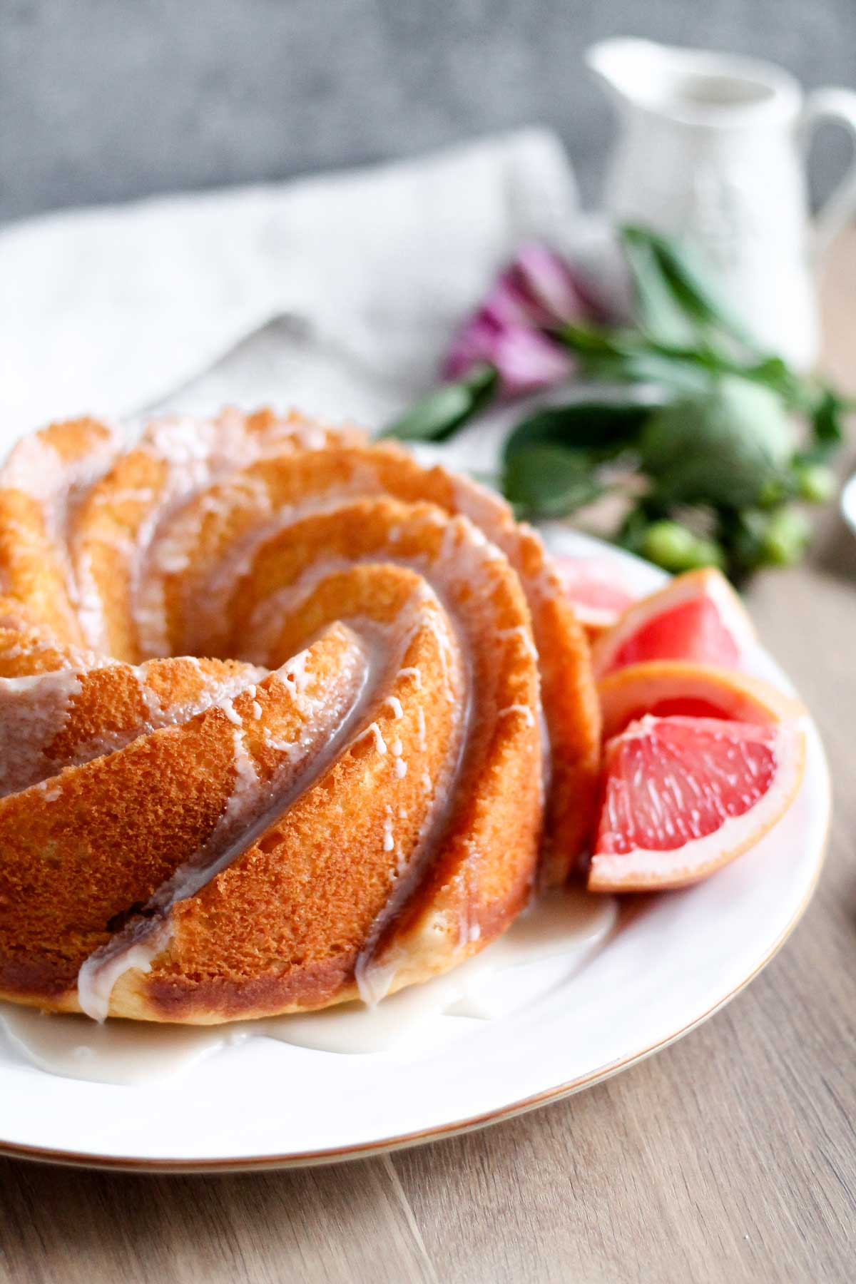 Grapefruit Yogurt Bundt Cake Katiebird Bakes