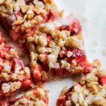 Strawberry Crumble Bars | Katiebird Bakes