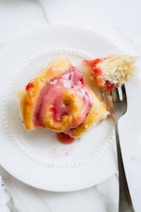 Rhubarb Rolls | katiebirdbakes