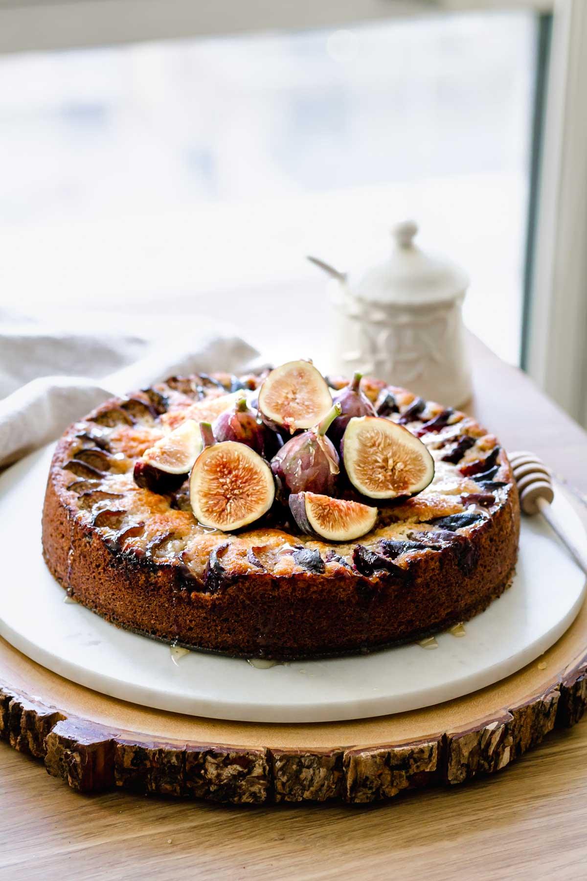 Fig Coffee Cake Katiebird Bakes