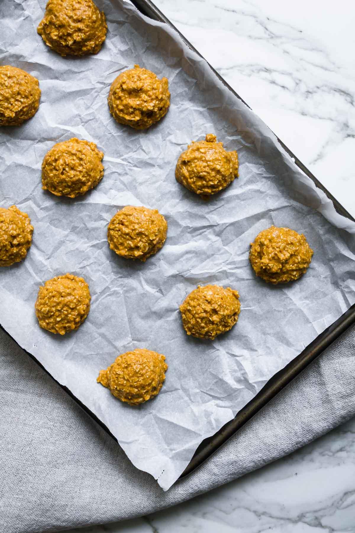 Pumpkin Oatmeal Cookies | katiebirdbakes