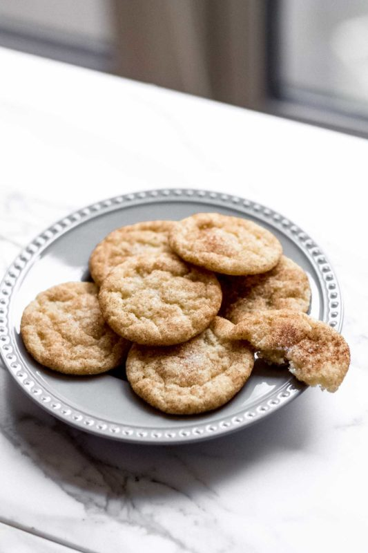 Snickerdoodles - the classic cinnamon sugar cookies!