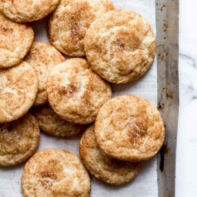 Snickerdoodles - the classic cinnamon sugar cookies!