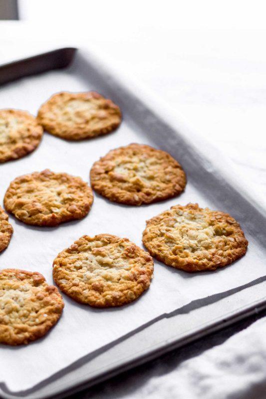 Anzac Cookies | katiebirdbakes