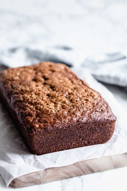 The Easiest Banana Bread - one bowl, no mixer!