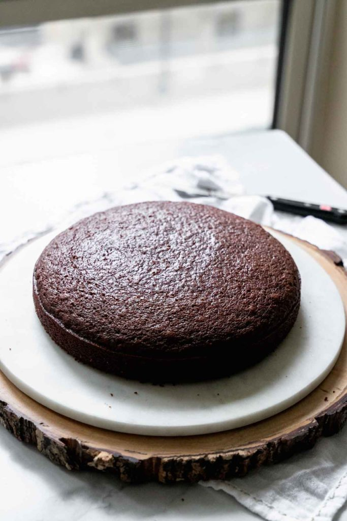 Gingerbread cake - baked!