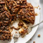 Two forks sharing homemade sticky buns