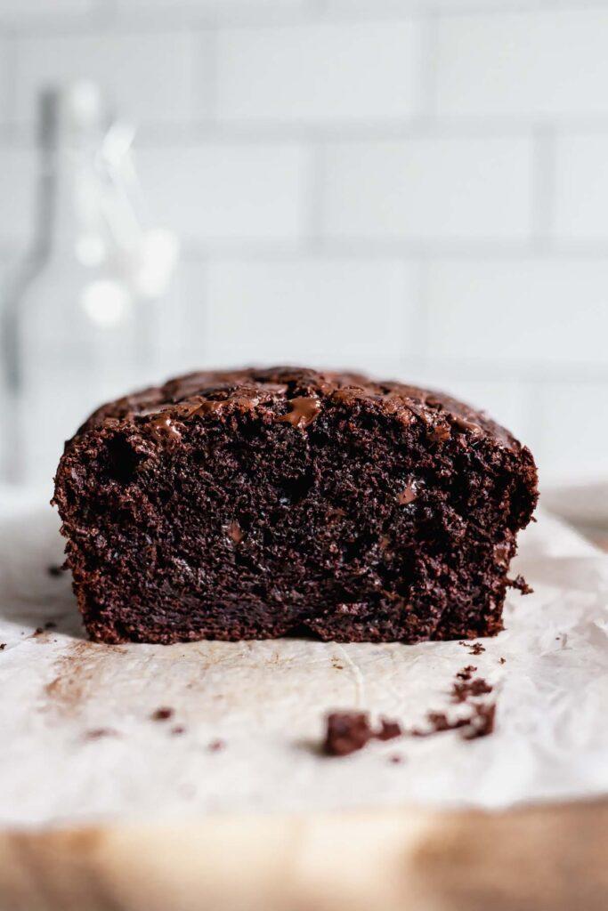 Double dark chocolate banana bread recipe