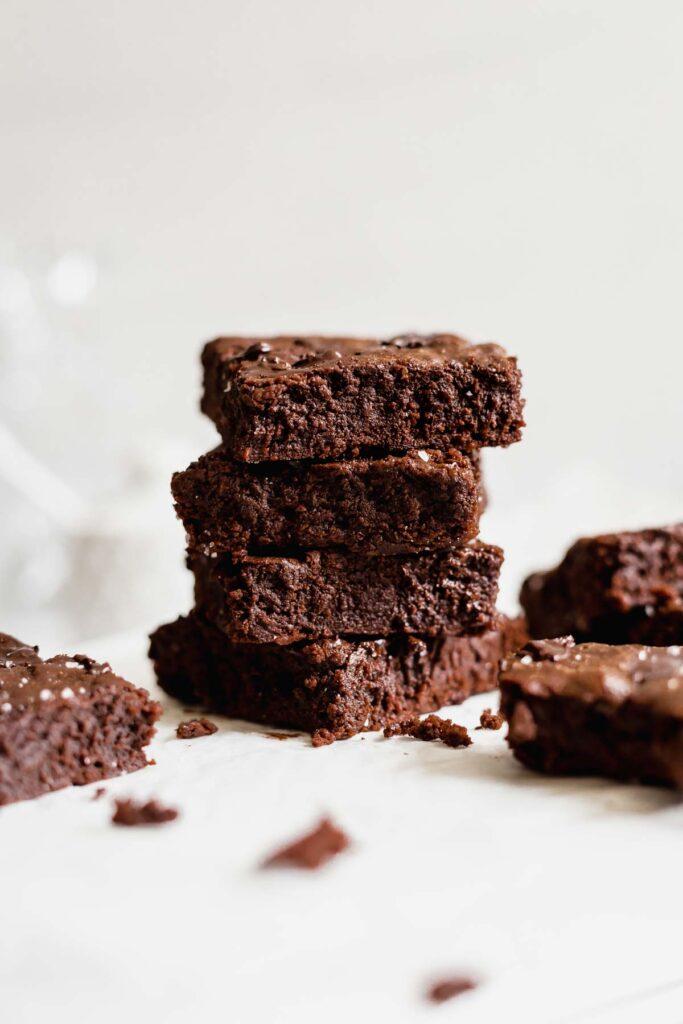 Small Batch Brownie Recipe | katiebirdbakes